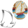 Sailboat Stainless Steel Cookie Cutter