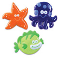 Sea Animal Cupcake Rings 12pcs