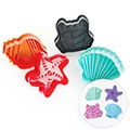 Sea Creatures Plunger Cutters 4pcs
