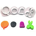 Sewing Plunger Cutters Set 4pcs