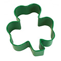 Shamrock Green Resin Cookie Cutter