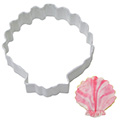 Shell White Resin Cookie Cutter