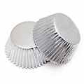 Silver Foil Baking Cups (#550) 240pcs
