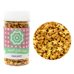 Small Gold Stars Sprinkles