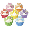 Small Mixed Edible Wafer Butterflies 42pcs