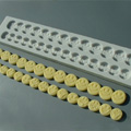 Alphabet Moulds Smiley Faces Silicone Mould