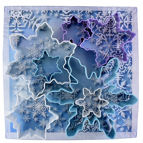 Christmas Snowflake Cookie Cutter Set 7pcs