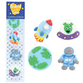 Space Edible Cupcake Toppers 10pcs