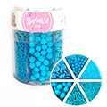 Sprinkd Blue Sprinkle Mix Jar 200g