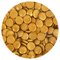 Sprinkd Gold Confetti Sequins 7mm Sprinkles 90g