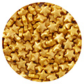 Sprinkd Gold Stars 7mm Sprinkles 100g
