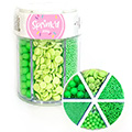 Sprinkd Green Sprinkle Mix Jar 200g