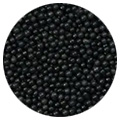 Sprinkd Nonpareils Black 2mm Sprinkles 130g