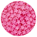 Sprinkd Candy Pink Stars 7mm Sprinkles 100g