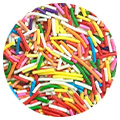 Sprinkd Rainbow Jimmies Sprinkles 100g