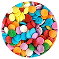 Sprinkd Rainbow Confetti Sequins 7mm Sprinkles 90g