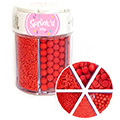 Sprinkd Red Sprinkle Mix Jar 200g