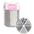 Sprinkd Silver Sprinkle Mix Jar 200g