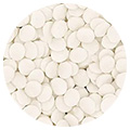 Sprinkd White Confetti Sequins 7mm Sprinkles 90g