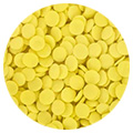 Sprinkd Yellow Confetti Sequins 7mm Sprinkles 90g