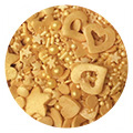 Sprinkletti Gold Mix Sprinkles 100g
