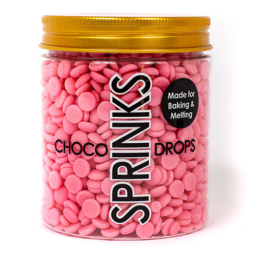 Sprinks Choco Drops Pink 200g