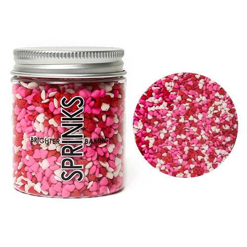 Sprinks Mini Hearts Edible Sprinkles