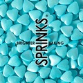 Sprinks Pearl Blue 10mm Hearts Sprinkles 85g