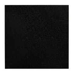 Mondo Square Black Masonite Cake Board 7 Inch