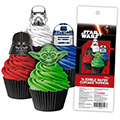 Star Wars Edible Wafer Cupcake Toppers 16pcs