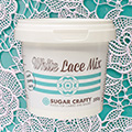 Sugar Crafty White Lace Mix 200g