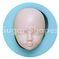 Sugar Shapes Child Head Silicone Mould