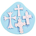 Sugar Shapes Cross Silicone Mould