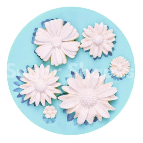 Sugar Shapes Daisy Silicone Mould