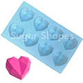 Sugar Shapes Geometric Heart Silicone Mould