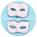 Sugar Shapes Masquerade Mask Silicone Mould