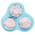 Sugar Shapes Roses Silicone Mould