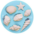 Sugar Shapes Seashells Silicone Mould