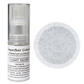 Sugarflair Edible Glitter Dust Spray Light Silver 10g