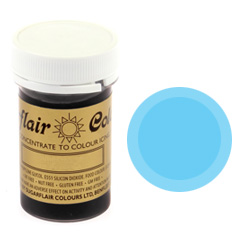 Sugarflair Spectral Paste Colour Baby Blue 25g