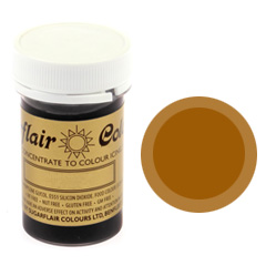 Sugarflair Spectral Paste Colour Chestnut 25g