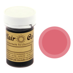 Sugarflair Spectral Paste Colour Dusky Pink 25g