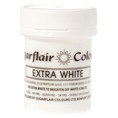 Sugarflair Paste Colour Extrra White