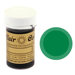 Sugarflair Spectral Paste Colour Holly Green 25g