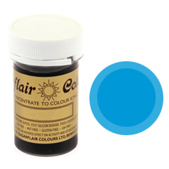 Sugarflair Spectral Paste Colour Ice Blue 25g