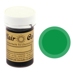 Sugarflair Spectral Paste Colour Party Green 25g