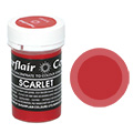 Sugarflair Pastel Paste Colour Scarlet 25g