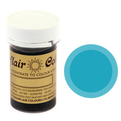 Sugarflair Spectral Paste Colour Turquoise 25g