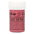 Sugarflair Satin Paste Colour Red 25g