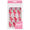 Flamingo Edible Cupcake Decorations 12pcs